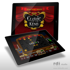 Hire Todd Rivers - Portfolio - Classic Keno iPad Casino Game