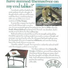 Hire David Ayscue III - Portfolio - Furniture trade show ad