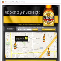 Hire Eli Ferrer - Portfolio - Medalla Light Store Search