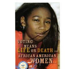 Hire mariam khan - Portfolio - NAACP advertising mailout campaign