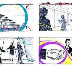 Hire Rosie Packwood - Portfolio - Storyboard Extract