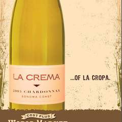 Hire David Ayscue III - Portfolio - World Market - POS Wine Poster - La Crema