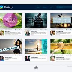 Hire Isis Zeledon - Portfolio - Britely Website