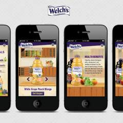 Hire Penelope Morla - Portfolio - Welch's (Mobile App Design) Slide No.2