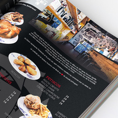 Hire Marie-France Caron - Portfolio - Restaurant Menu