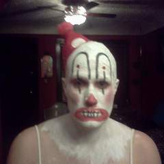 Hire Elissa Wood - Portfolio - creepy clown (female) Halloween 2012