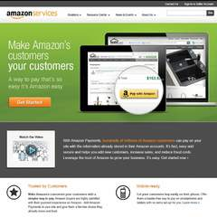 Hire Andrea Paulus - Portfolio - Website Redesign for Amazon Payments