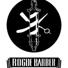 Hire Louis Cyan - Portfolio - Rogue Barber, hand-lettered, hand-drawn