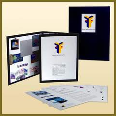 Hire Ken Banick - Portfolio - Leave Behind Presentation Folder • Inserts