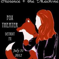 Hire Samantha Stoelton - Portfolio - Florence & the Machine poster