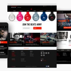 Hire Miguel Medina - Portfolio - Beats by Dre Join the Army