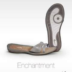 Hire Laetitia montay - Portfolio - Nike Enchantment Sandal