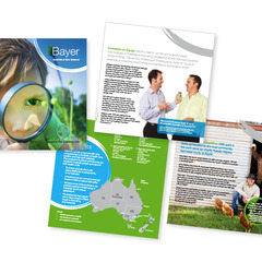 Hire Tracy James - Portfolio - Bayer Corporate Profile