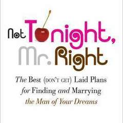 "Hire Stewart Williams - Portfolio - ""Not Tonight Mr. Right"" Book Cover"