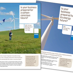 Hire Tracy James - Portfolio - AGL Utilities Print Advertising Campaign