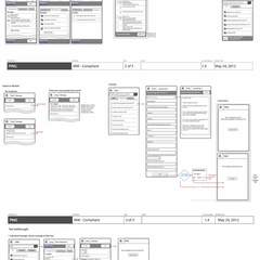 Hire Brian Tepfenhart - Portfolio - UX Map for Medical Communication Module