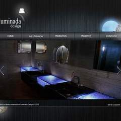 Hire Janine Barbosa - Portfolio - A Iluminada - Interface Design