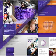 Hire Eli Ferrer - Portfolio - FedEx UI samples