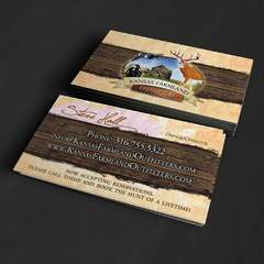 Hire Grant Darrah - Portfolio - Kansas Farmland Business Cards