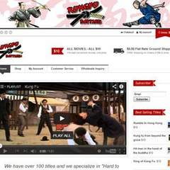 Hire Elise Teddington - Portfolio - Kung Fu Battles Franchise logo/website