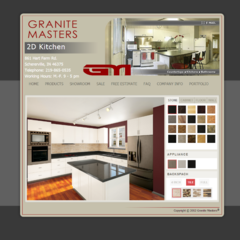 Hire Darko Lazic - Portfolio - Granite Masters, 2D Showroom