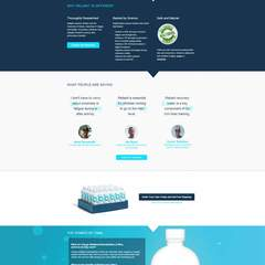Hire David Abling - Portfolio - Unbounce Landing Page:  Reliant Recovery Water