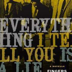 "Hire Stewart Williams - Portfolio - ""Everything I Tell You Is A Lie"" Book Cover"