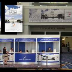 Hire Zenaida Mendoza - Portfolio - Conference Signage and Collateral