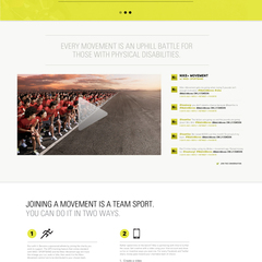 Hire Wayne Alan Kan - Portfolio - Nike+Movement website design