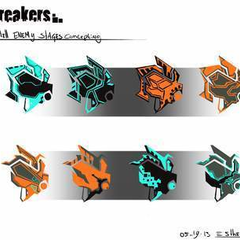 Hire Esther Wijdeveld - Portfolio - BitBreakers Enemy Concepting