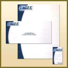 Hire Ken Banick - Portfolio - Eagle Fitness Logo and Stationary