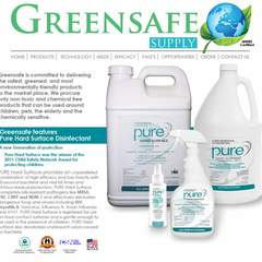 Hire Marcie Salit - Portfolio - GreenSafe Supply Website