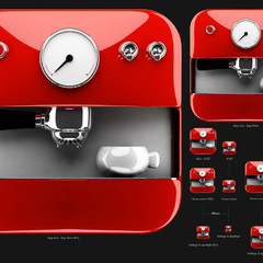 Hire Waldemar Osmala - Portfolio - Coffee Machine icon
