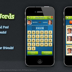 Hire Ziv Peter Zakor - Portfolio - Ghost Words Game
