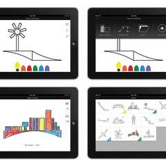 Hire Brian Tepfenhart - Portfolio - Children's Colouring iPad App