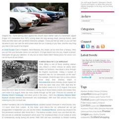 Hire Towe Varland - Portfolio - Blog post - VisitBritain: A tribute to old cars