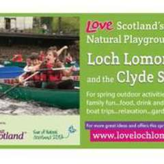 Hire Marianne McDougall - Portfolio - Love Loch Lomond press advert