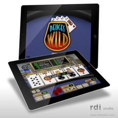 Hire Todd Rivers - Portfolio - RDI Deuces Wild Poker | iPad casino game