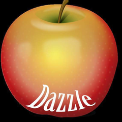Hire Kaitlin Mcnaughton - Portfolio - Dazzle Apple Graphics Logo