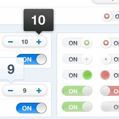 Hire Robert Haverly - Portfolio - Toggle experiments for an iPad App