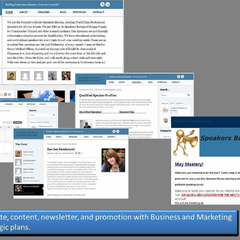 Hire Rae-Ann Ruszkowski  - Portfolio - Speaker Website and Marketing Support