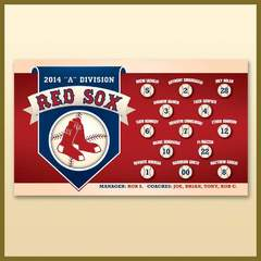 Hire Ken Banick - Portfolio - Local Baseball League Banner