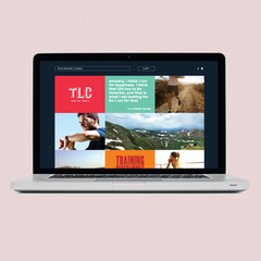 Hire Daniela Tan - Portfolio - Branding and web design for Train.Live.Compete