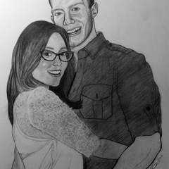 Hire Sophocles Plokamakis - Portfolio - Valentine's Day Portrait of Steve and Heather