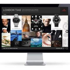 Hire Jill Gustaferri - Portfolio - Omega 'London Time'