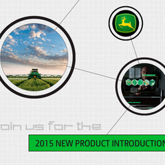 Hire Beth Wickerson - Portfolio - Media Event Evite: John Deere New Product Intro