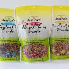 Hire Lynne Dorando Hans - Portfolio - Packaging for Jessica's Natural Foods