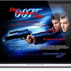 Hire Melvin Rivera - Portfolio - Die Another Day and Jamesbond.com