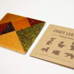 Hire Lisa Mishima - Portfolio - Fruit Leather Tangrams