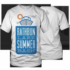 Hire Grant Darrah - Portfolio - Rathbun Lake Summer Bash Shirt
